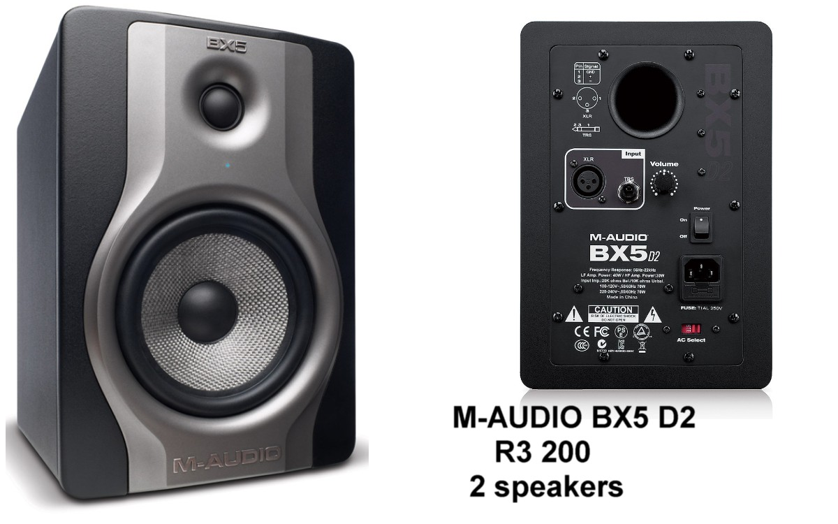 M-AUDIO BX5 X 2Speakers