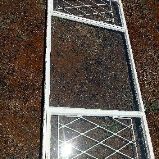 steel windows painted
