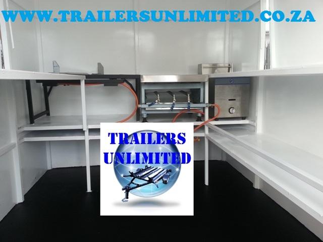Mobile Food Trailer 3225 x 2000 x 2000