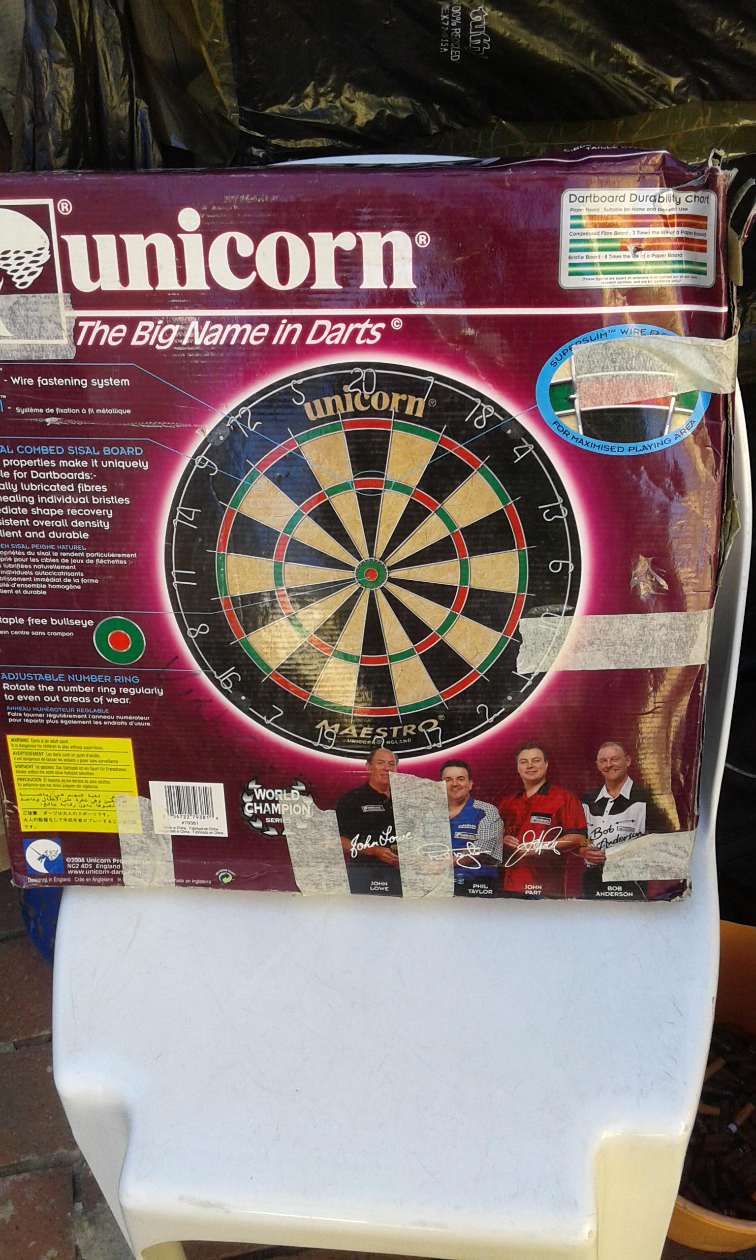 Dart Board, Unicorn, Maestro, best made brand
