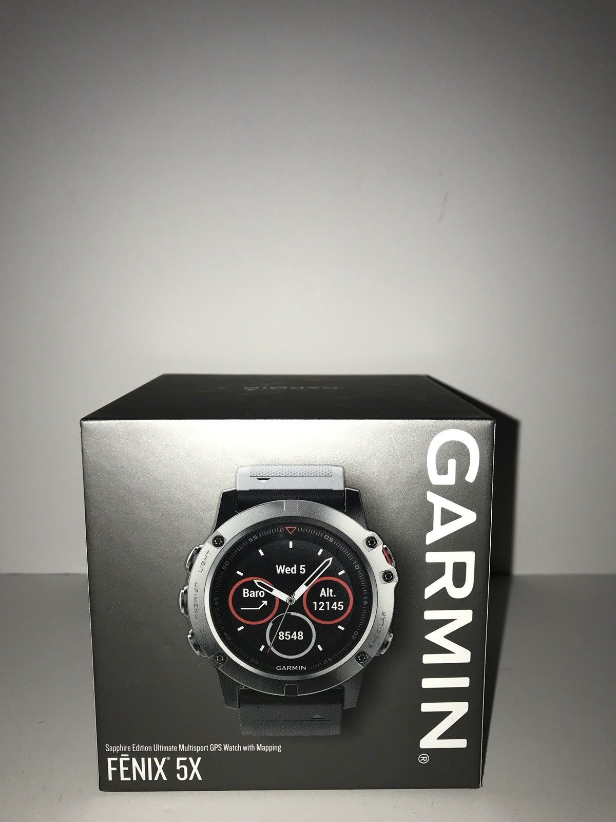 Garmin Fenix 5X Sapphire 51mm Multisport GPS Watch with Mapping