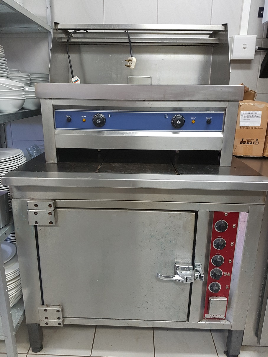 oven and chips fryer
