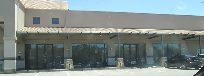 Shop with large shopfronts- Zambesi Road, Montana
