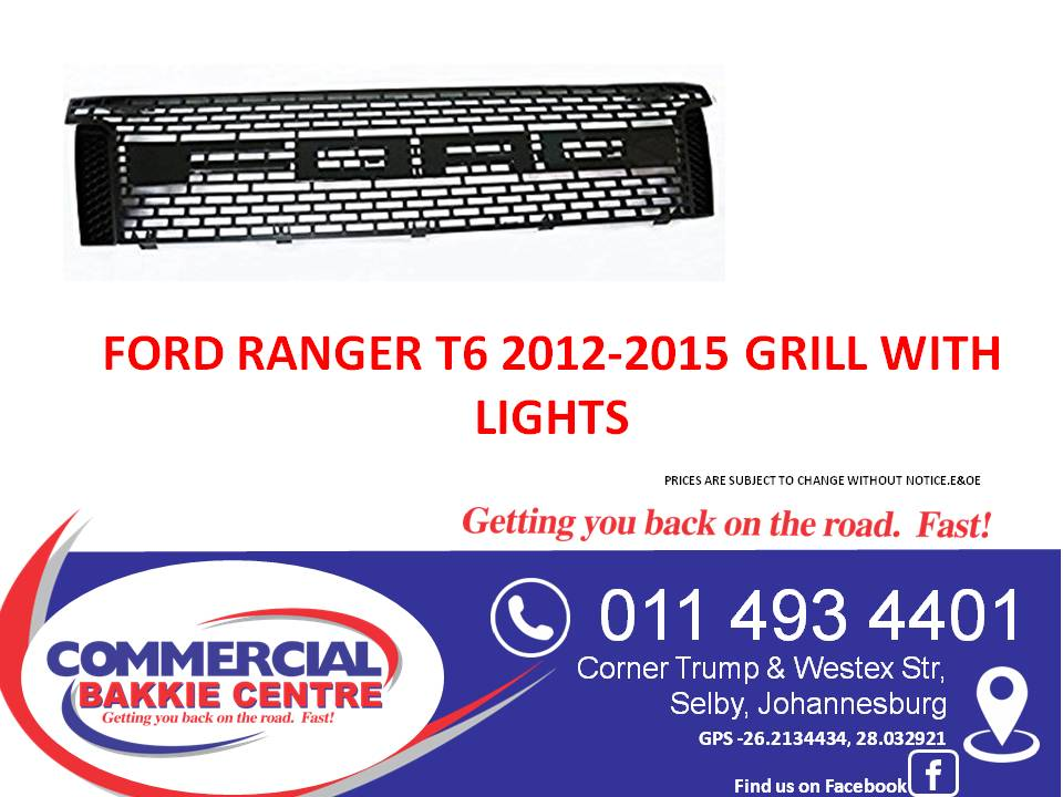 ford grill 2012-2015 with lights
