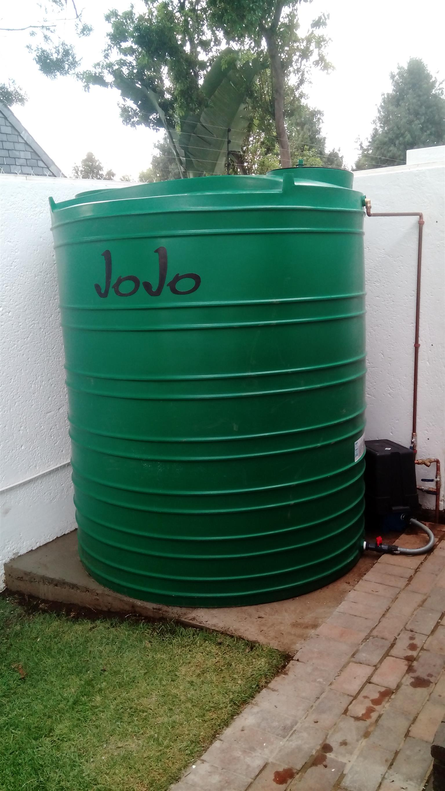 JoJo Tanks for water security