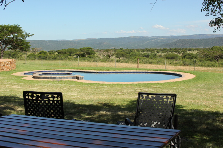 Private self catering chalets on 2000ha nature reserve