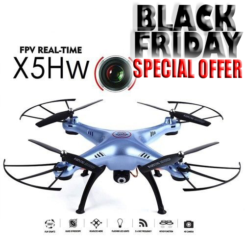 SYMA X5HW quadcopter - Black Friday special