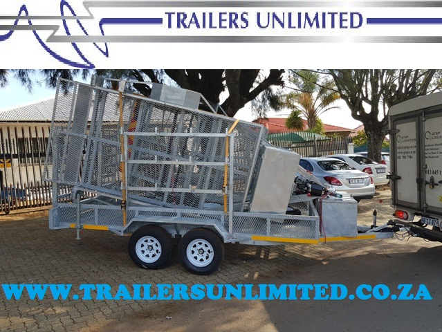TRAILERS UNLIMITED HOT DIPPED GALVANIZED 4000 X 2000 X 400