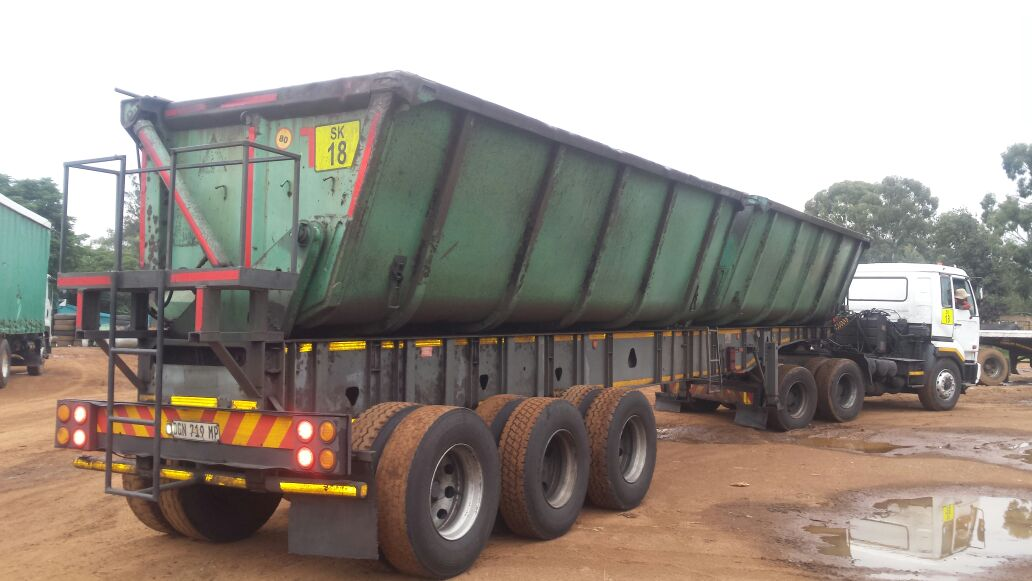 Tri Axle 34ton Side Tipper Trailer On Sale Today Junk Mail