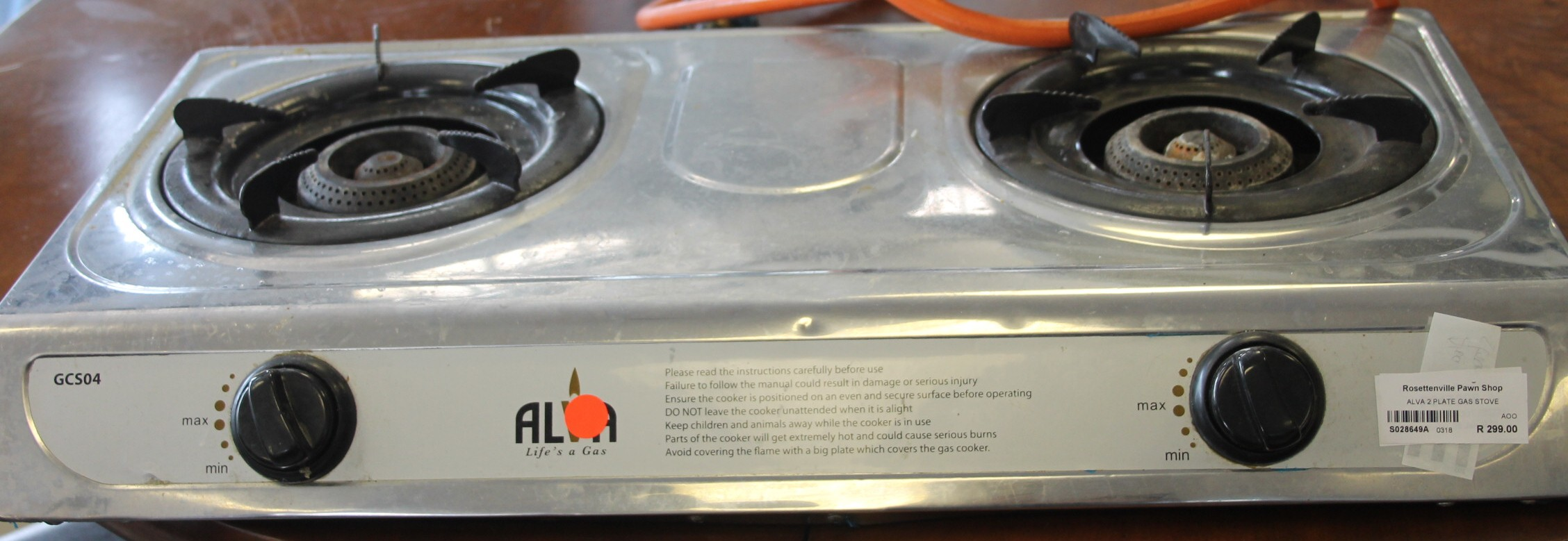 Alva gas stove S028649a #Rosettenvillepawnshop
