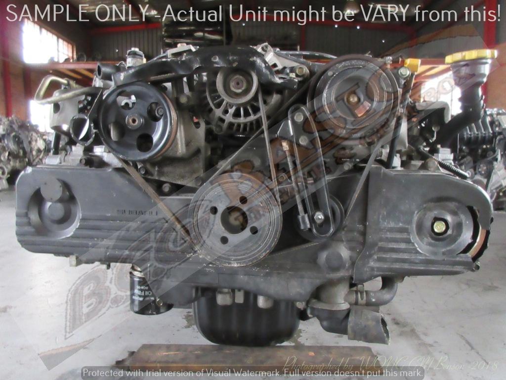 SUBARU -EJ25 2.5L EFI 16V SINGLE CAM Engine -(6 Bolts)