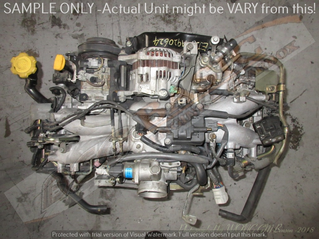 SUBARU -EJ25 2.5L EFI 16V SINGLE CAM Engine -(6 Bolts)