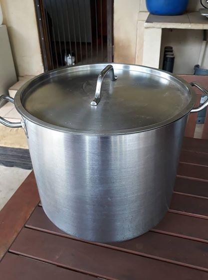 25litre stsinless steel pot
