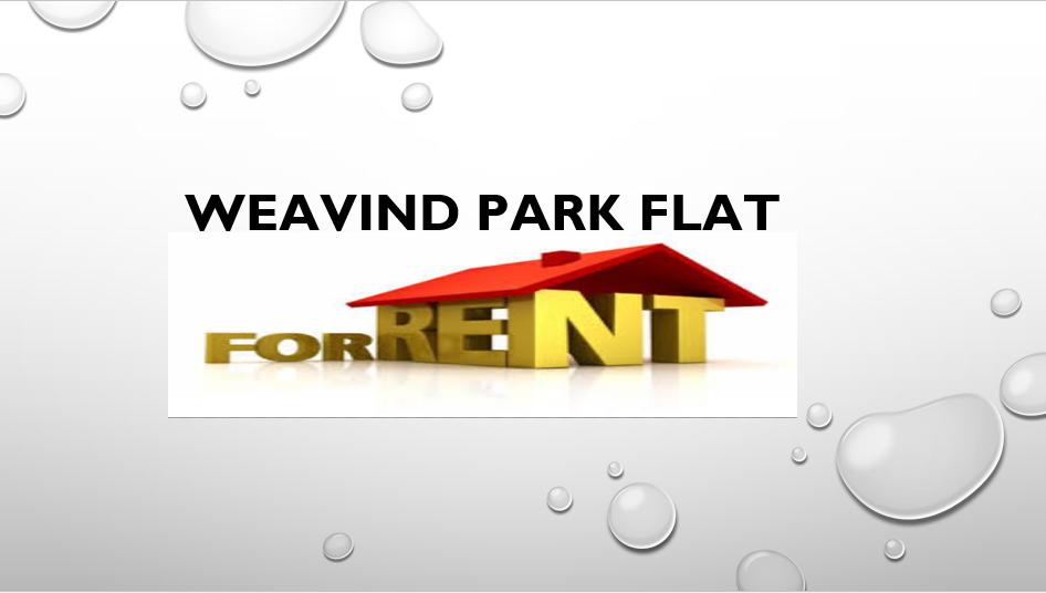 Weavind Park: 1.5 bedroom to rent