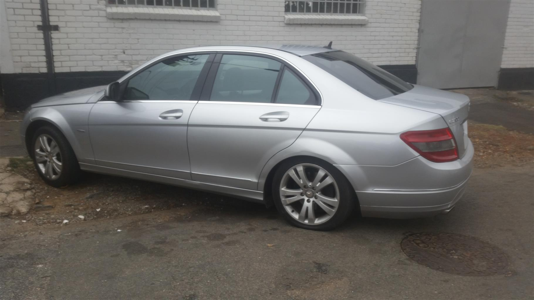2009 Mercedes Benz C Class C200 Kompressor Avantgarde Junk Mail