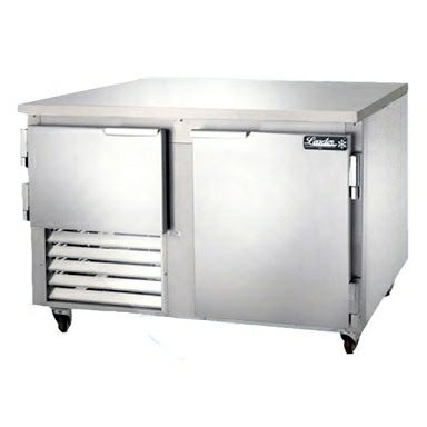 1.2 door under counter bar fridge