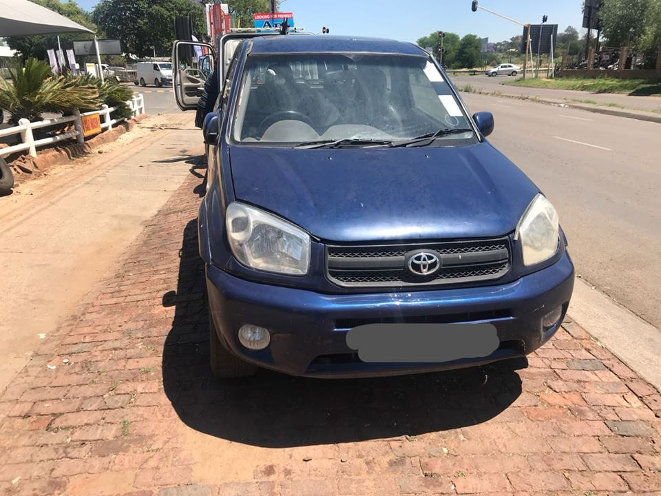 2004 Toyota Rav4 Code 3 Now Stripping for Spares