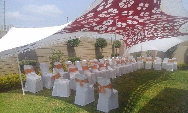 Baby Shower Decor Lounge Set Up Couches Ottomans Stretch Tents For