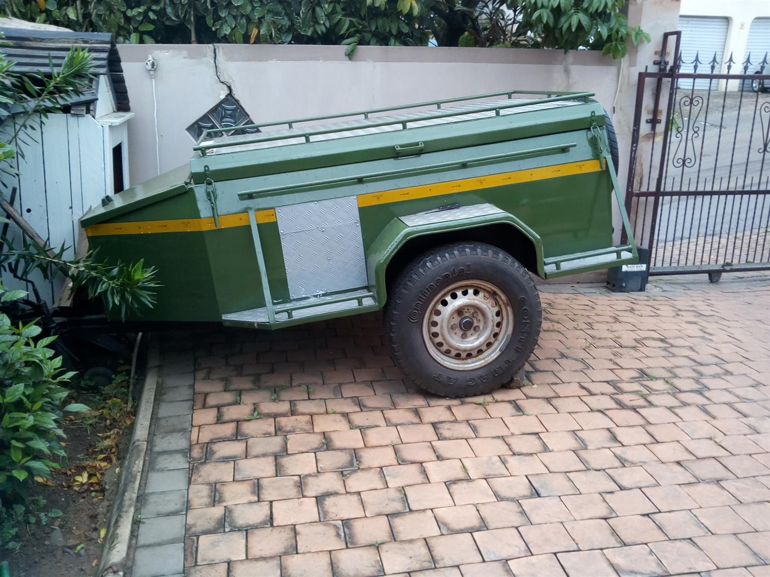 Camping Trailer for sale to swop for a quad bike or a small vehicle