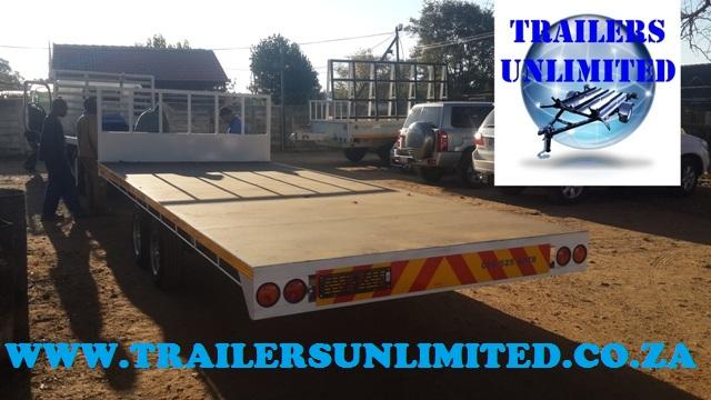 Flat Deck Trailer 5950 x 2000