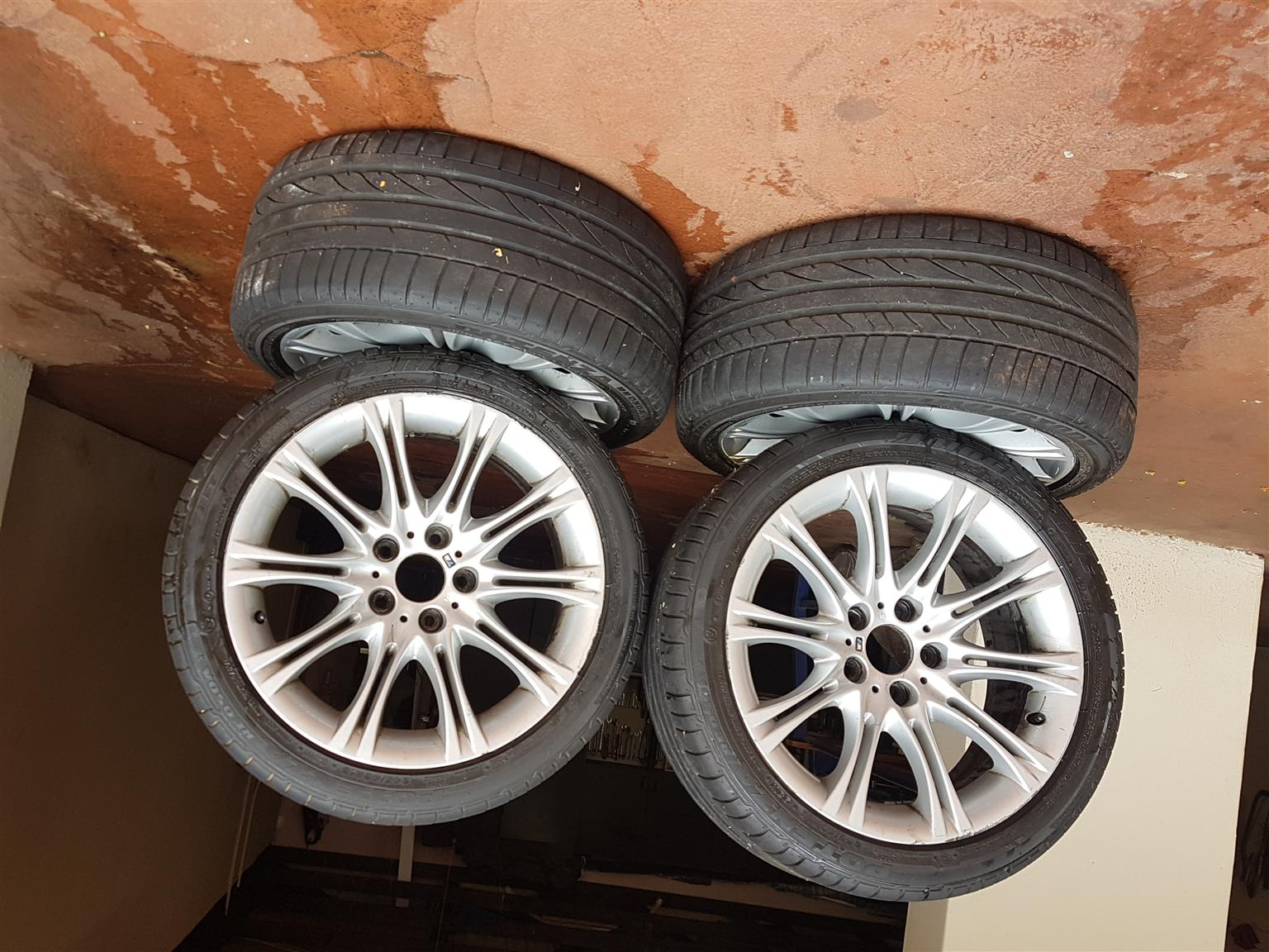 BMW 525i Set of Tyres and Rims