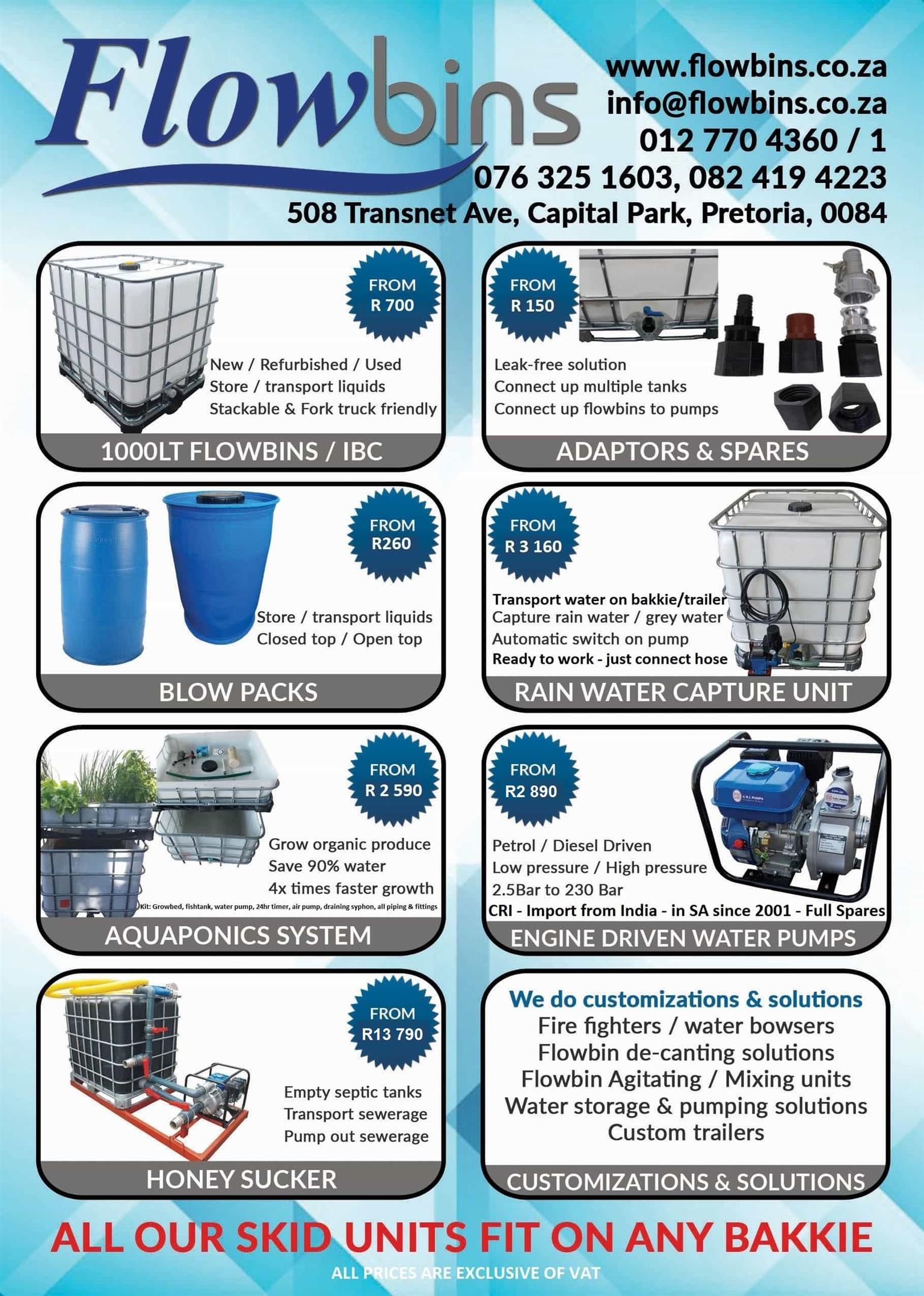 Aquaponics plete starter kits Growbed Fish tank Water pump