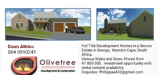 New Development Full Title Homes for Sale