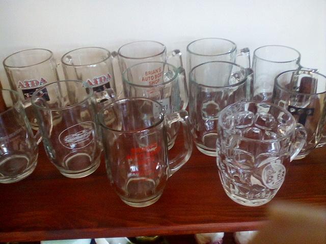 Assorted Beer Mug & Glass Collection