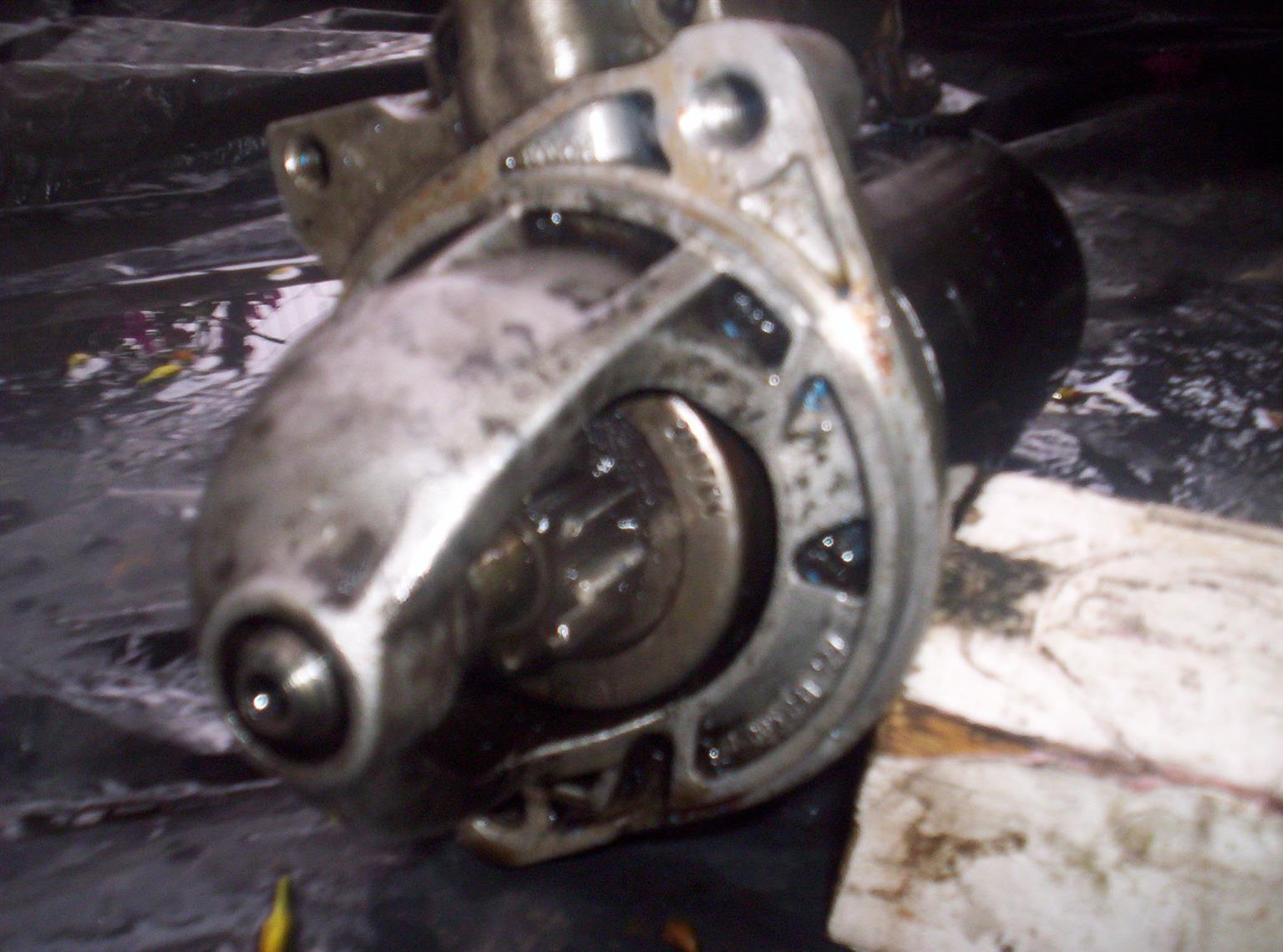 Mercedes Sprinter starter motor