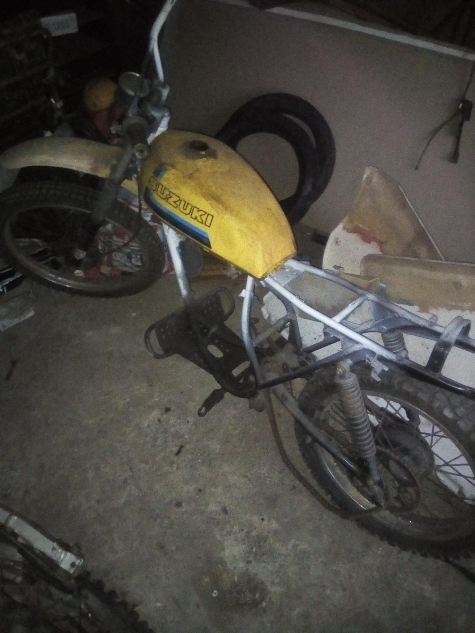 Suzuki ts frame and other spares