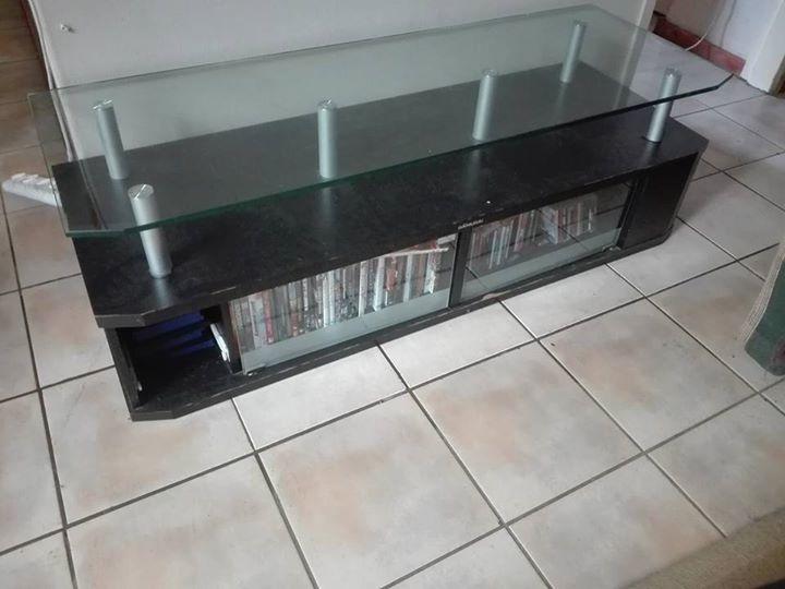 Glass top plasma unit