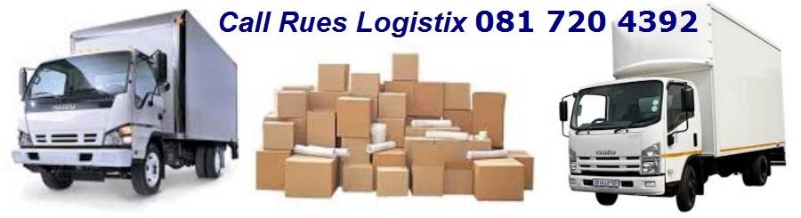 RUES LOGISTIX REMOVALS 081 7204392  074 503 9663