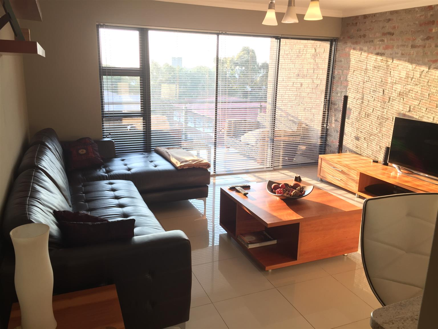 2 Bedroom 2 Bathroom 3rd Floor Apartment in Solheim Germiston with stunning views of the city