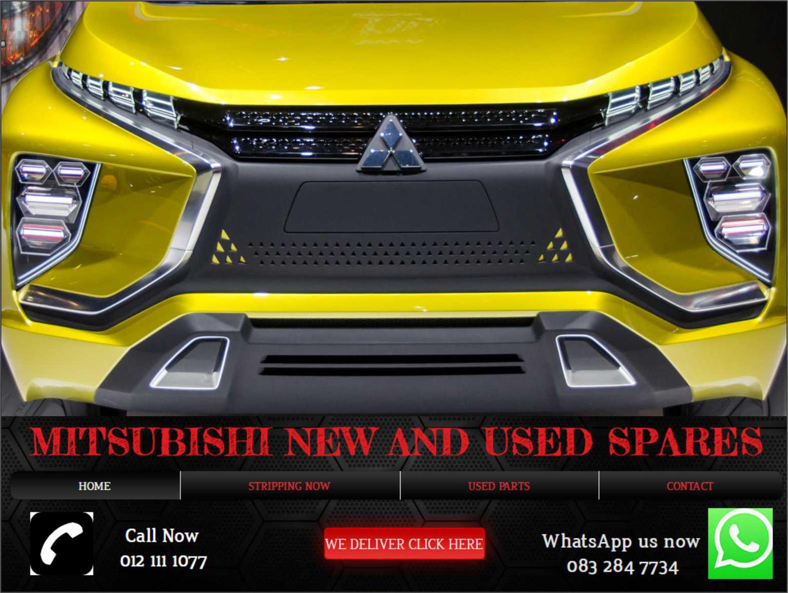 Mitsubishi used and new spares