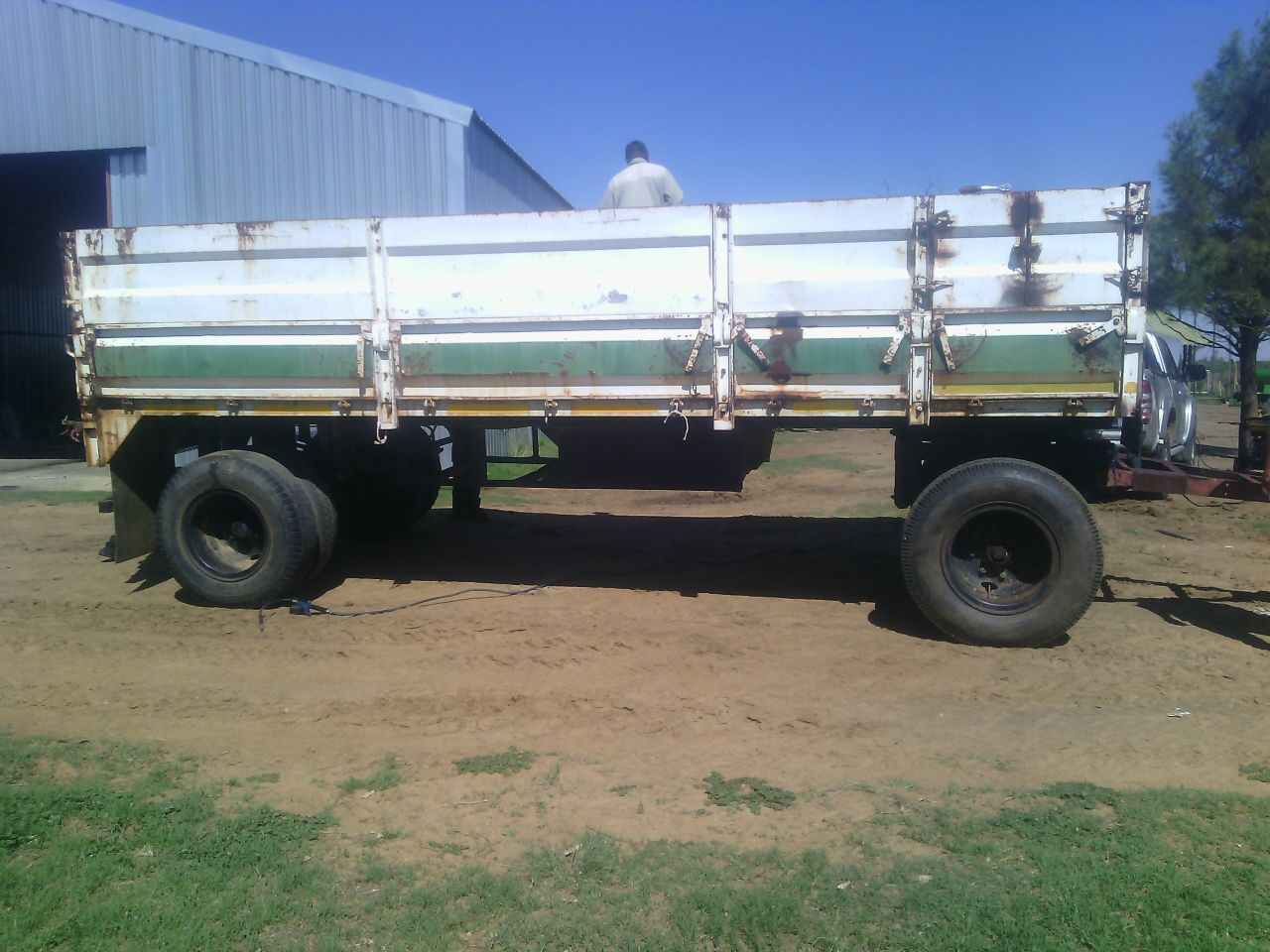 16 ton trailer for sale with papers