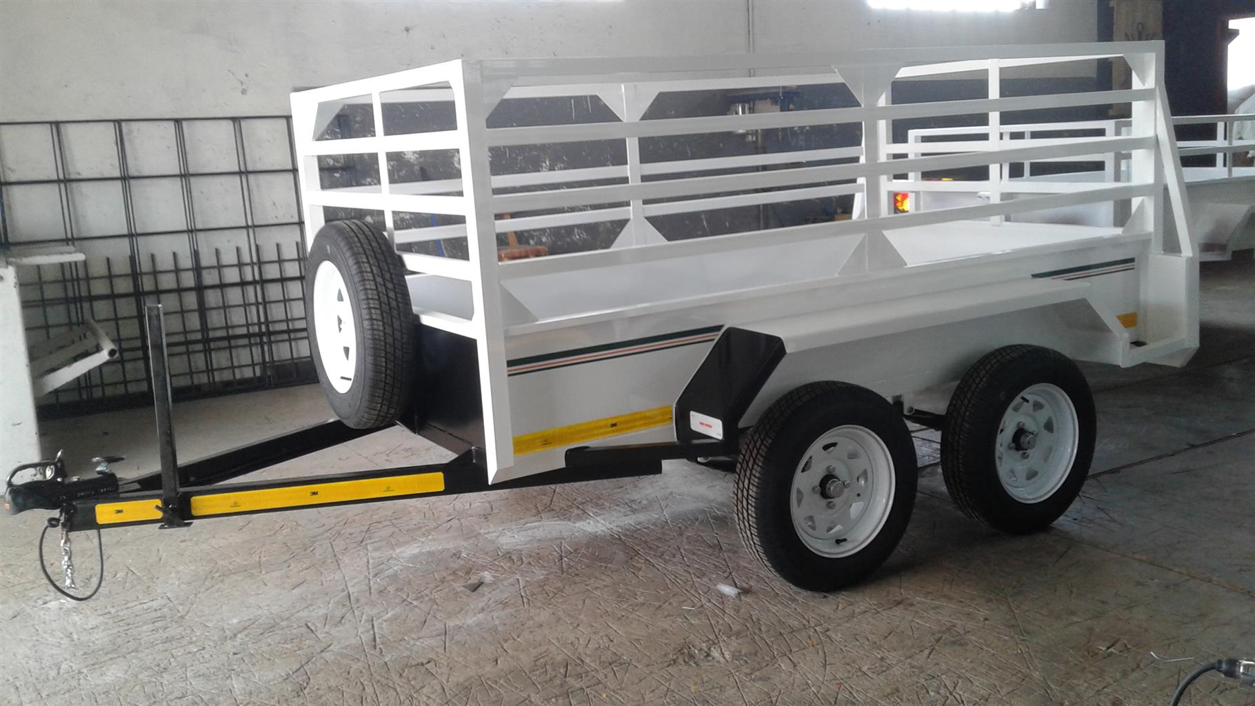 DOUBLE AXLE TRAILER FOR SALE PAPERS INCL