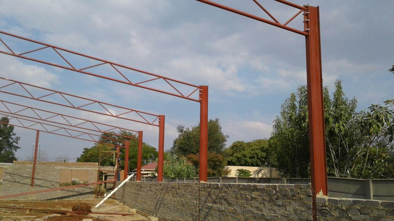 15x35x4m church building in progress