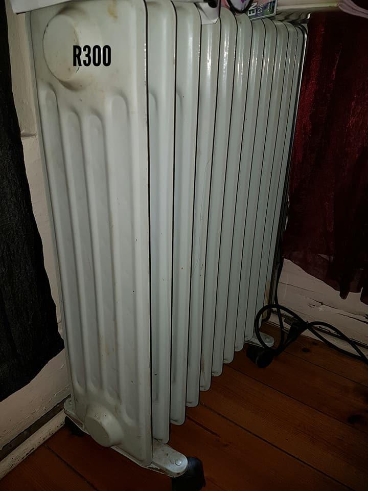 White oil heater