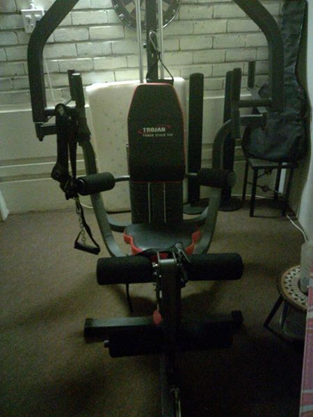 Trojan fully equipped gym