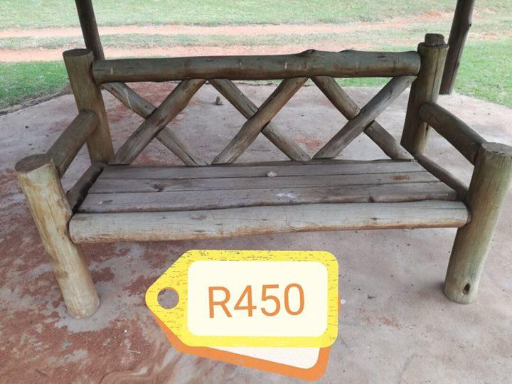 Wooden garden bench for sale