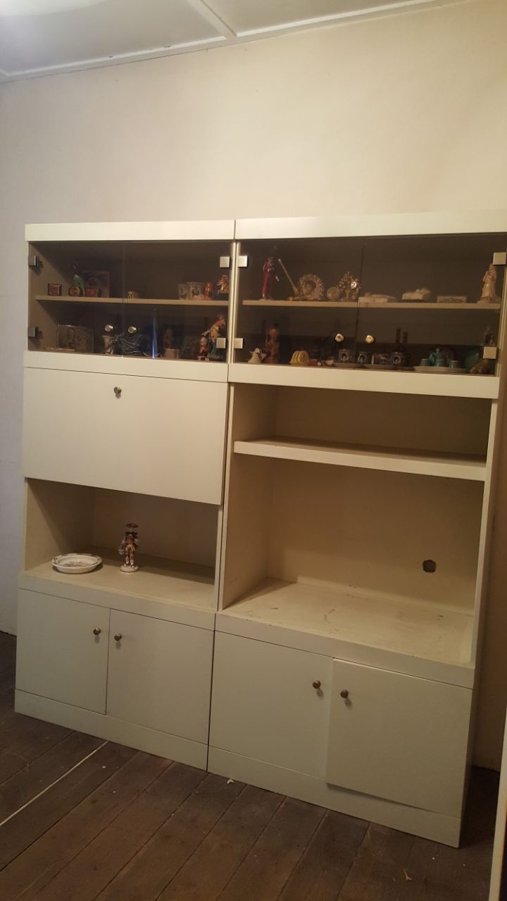 2 Piece Display and TV Cabinet