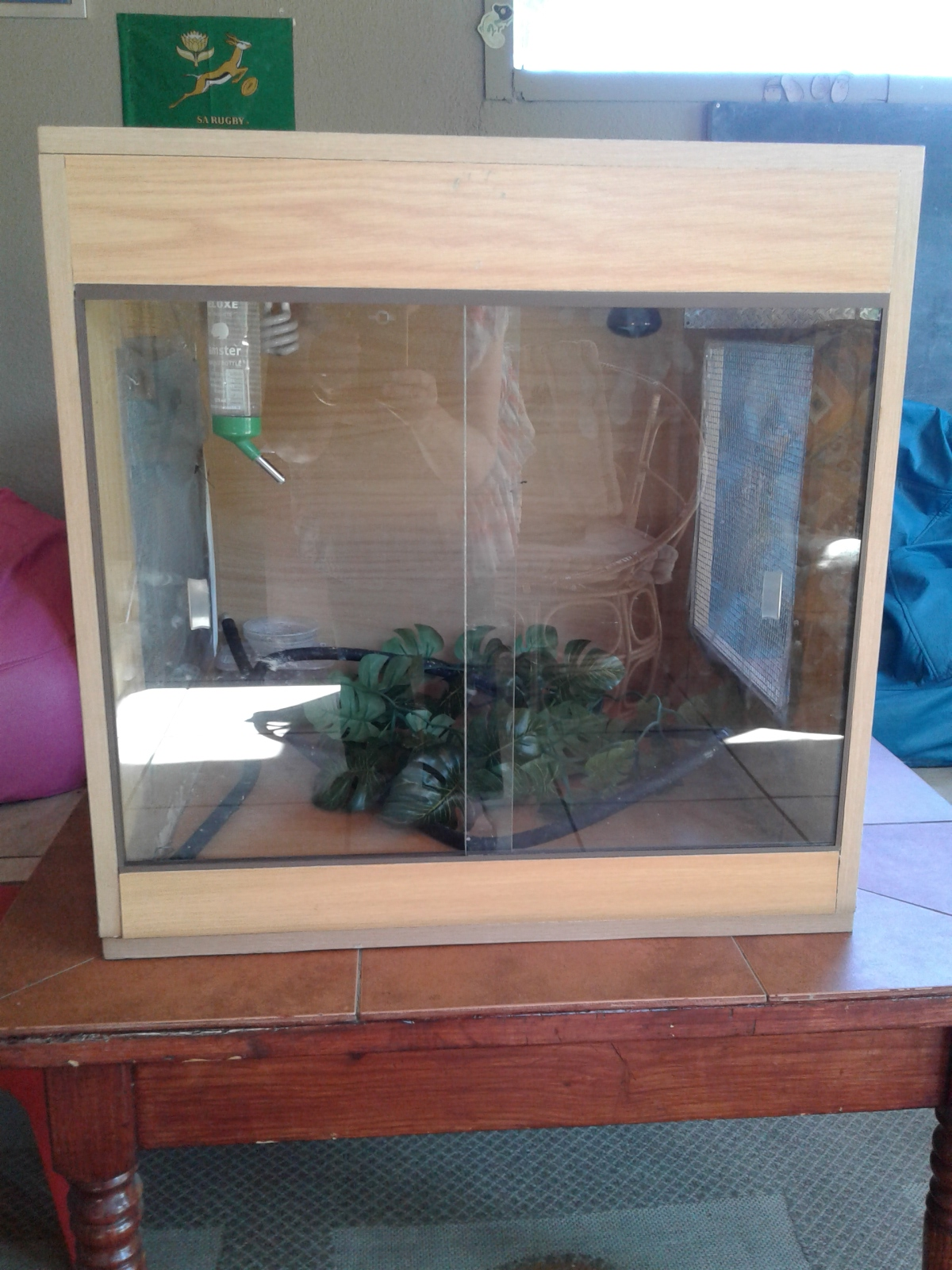 Wooden Reptile Cage