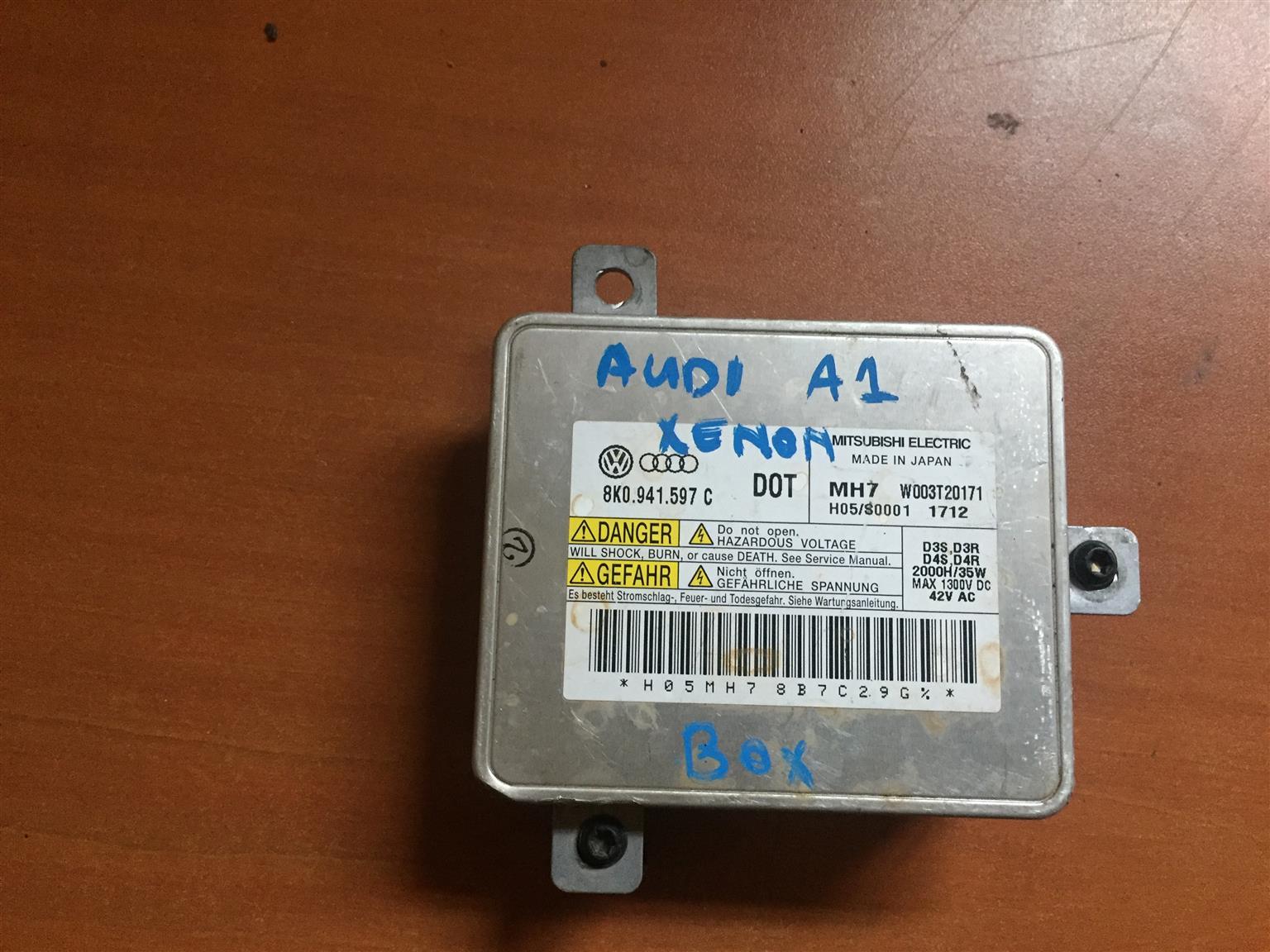 Audi A1 xonon box light