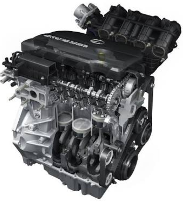 grail engine the with new gasoline to unveil engines gives technology holy of spark bl mazda