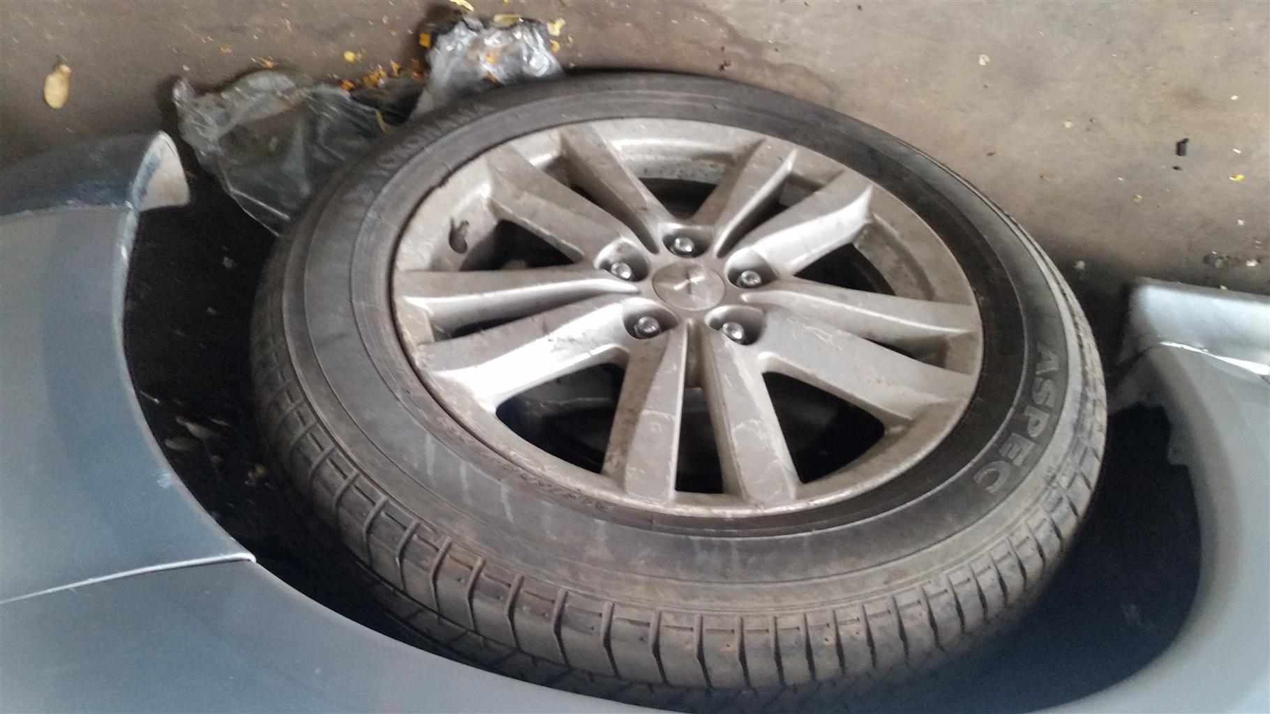 mitsubishi asx tyre