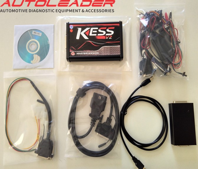 KESS V2 Master version 5.017 EURO RED ONLINE Version Chip tuning Tool