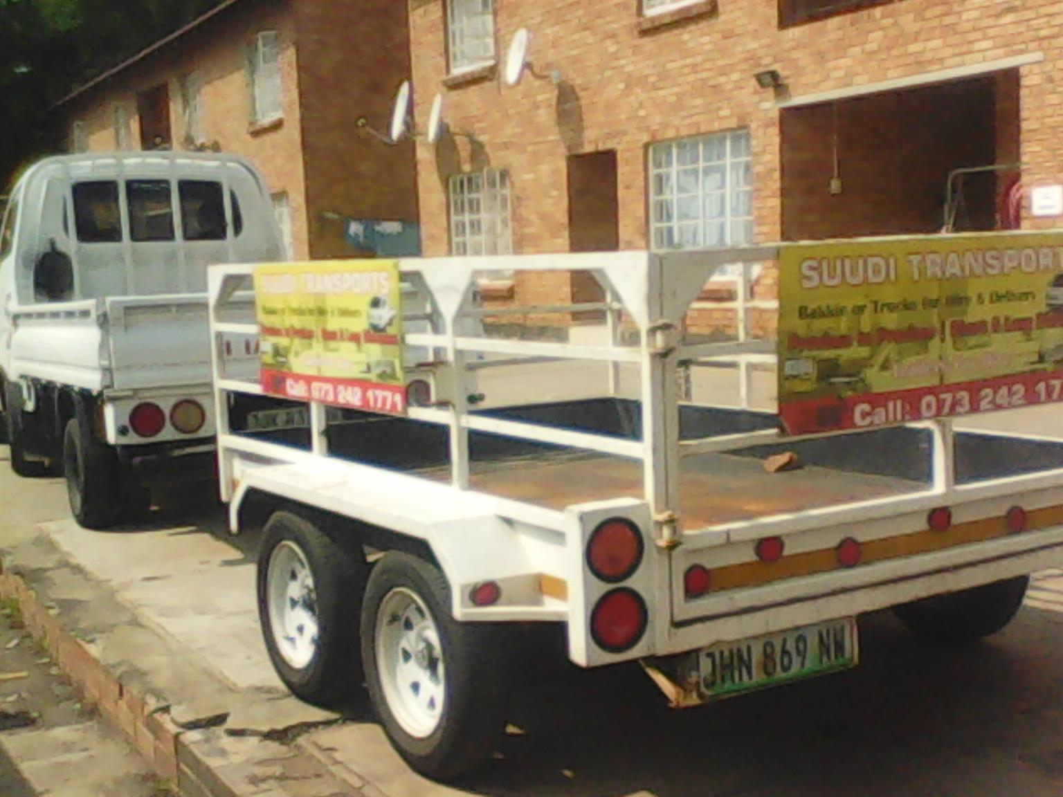 Suudi transport & trailers for hire