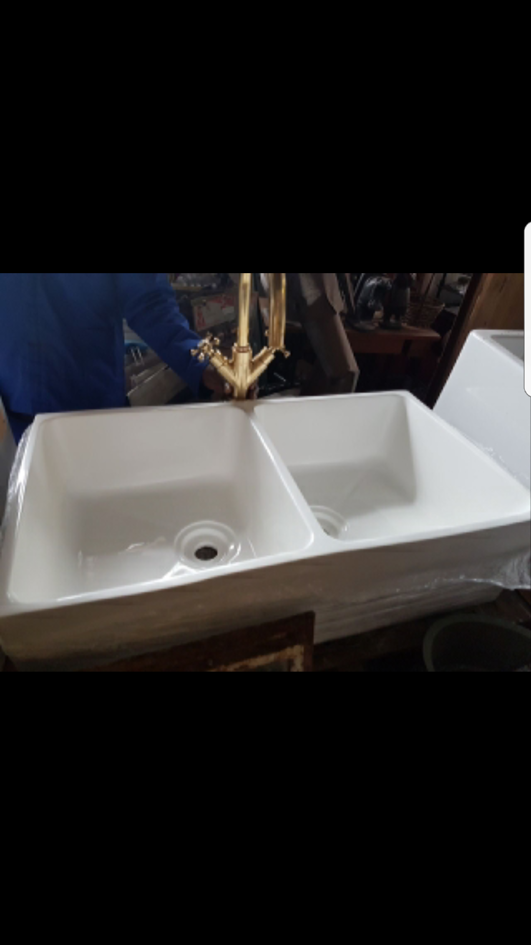 Double butler sinks