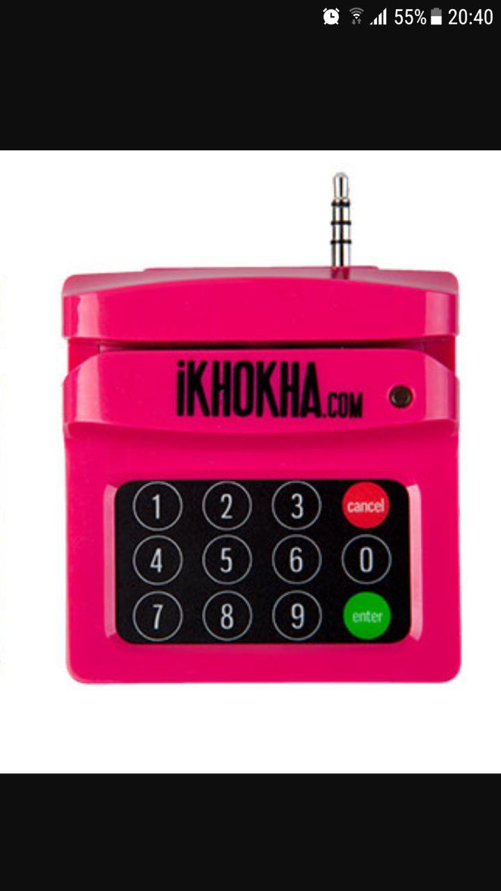 Ikhokha card machine