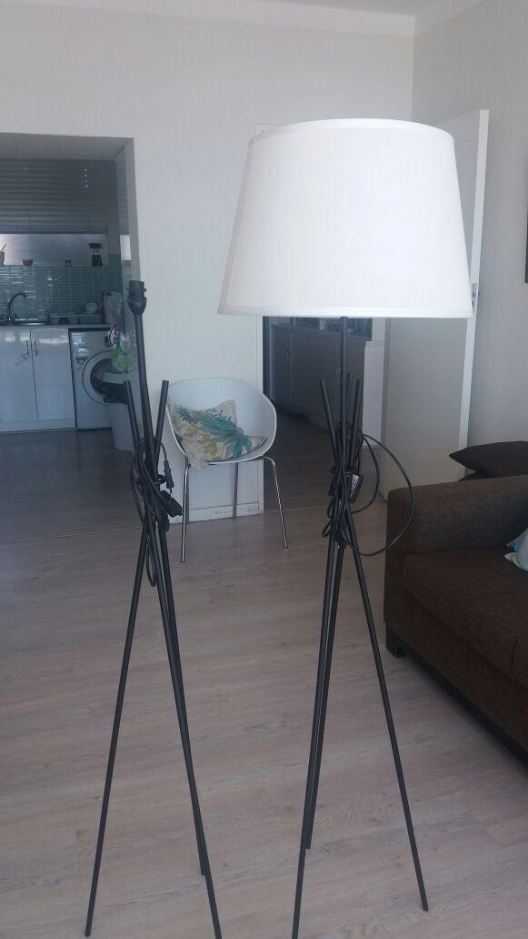 Black tripod floor lamp for sale